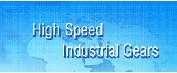 high speed industrial gears